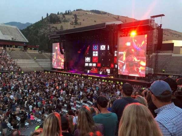 Washington-Grizzly Stadium, secção: 106, fila: 14, lugar: 15