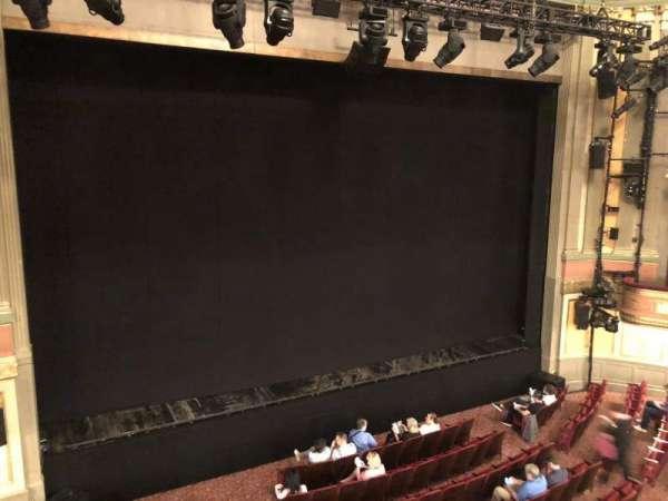 Neil Simon Theatre, secção: Front Mezzanine L, fila: B, lugar: 11