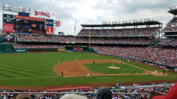 Nationals Park, secção: 207, fila: C, lugar: 18