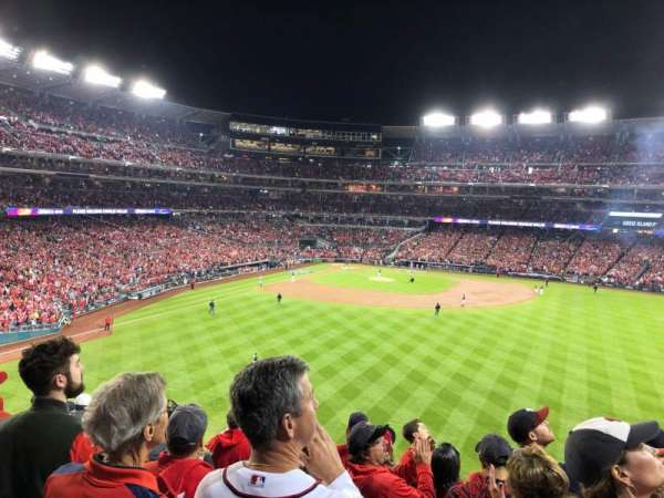 Nationals Park, secção: 241, fila: J, lugar: 18