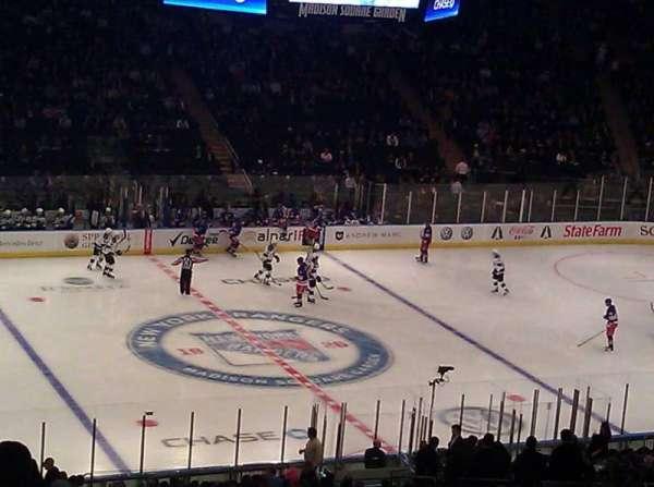 Madison Square Garden, secção: 313, fila: N, lugar: 4