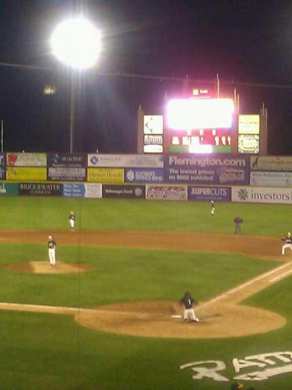 TD Bank Ballpark, secção: 204, fila: F, lugar: 2