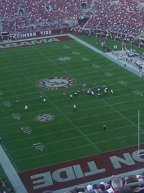 Bryant-Denny Stadium, secção: SS-11, fila: 29, lugar: 7