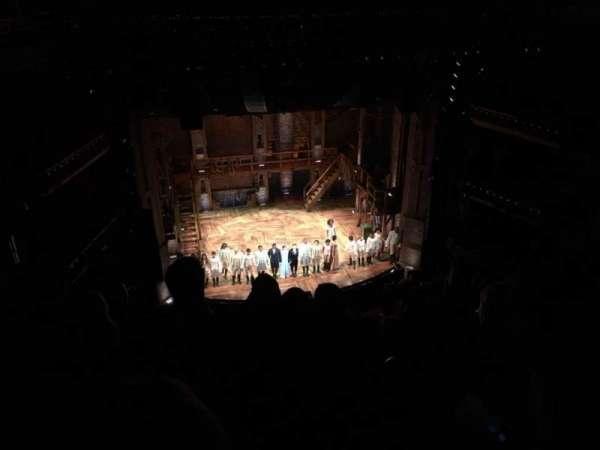 CIBC Theatre, secção: Balcony L, fila: D