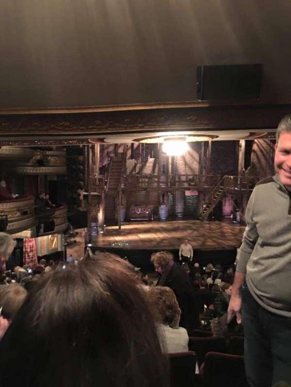 Richard Rodgers Theatre, secção: Orchestra L, fila: T, lugar: 7