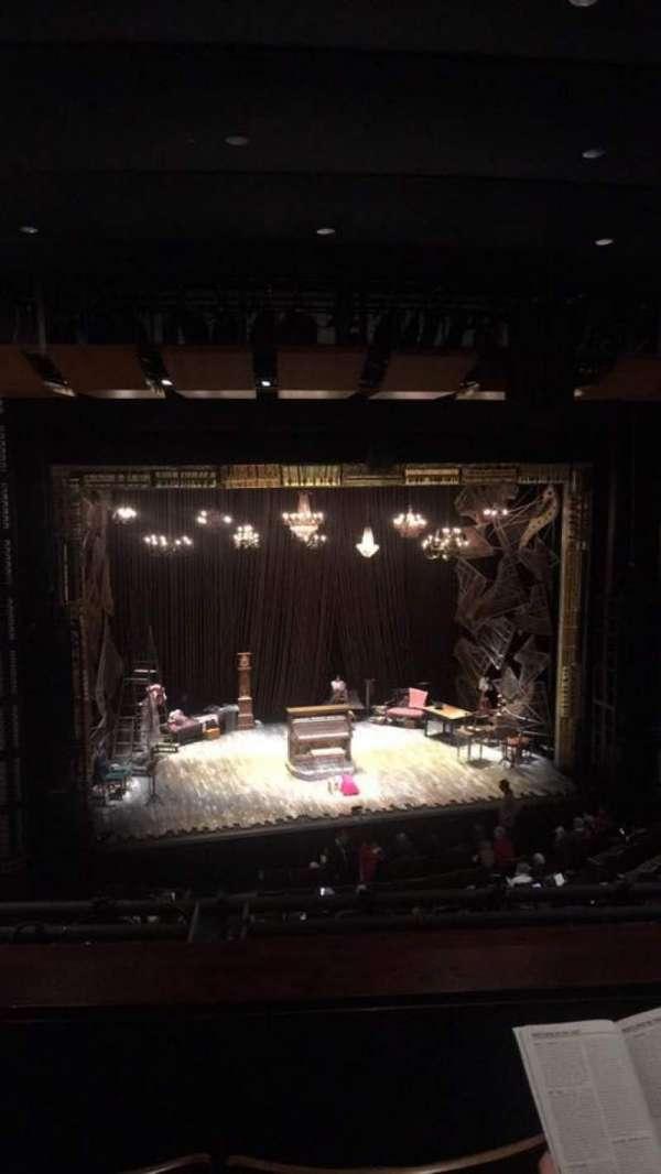 The Kennedy Center Eisenhower Theater, secção: Balcony, fila: C, lugar: 9
