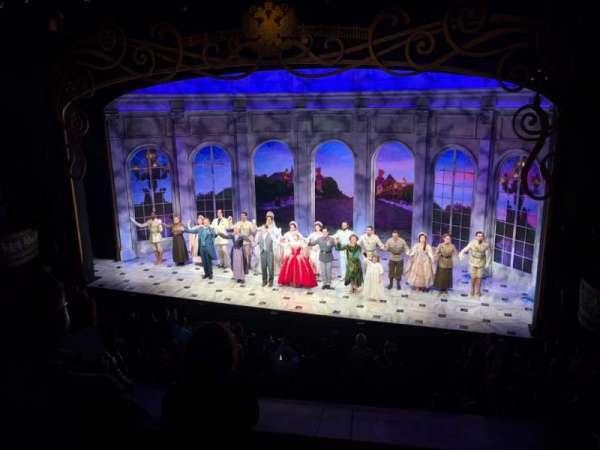 Broadhurst Theatre, secção: Mezzanine R, fila: D, lugar: 2