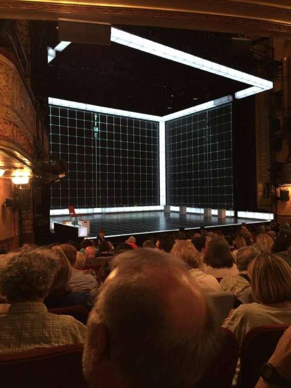 Ethel Barrymore Theatre, secção: Orchestra, fila: M, lugar: 12