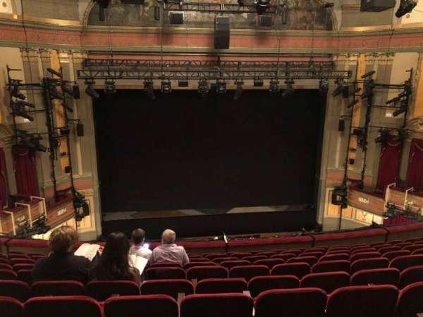 Neil Simon Theatre, secção: FMEZZ, fila: K, lugar: 107