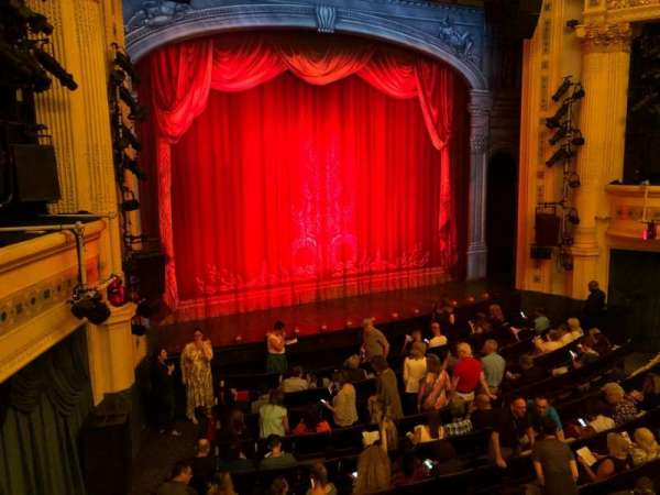 Hudson Theatre, secção: Dress Circle, fila: A, lugar: 7