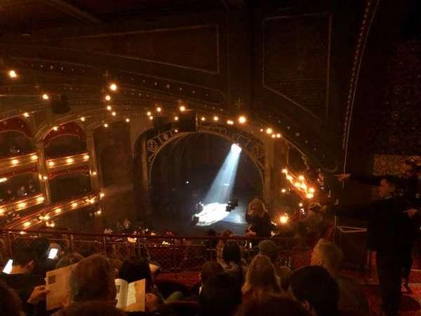 Lyric Theatre, secção: Balcony R, fila: G, lugar: 24
