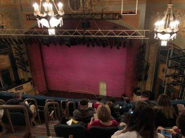 Shubert Theatre, secção: Balcony, fila: G, lugar: 6