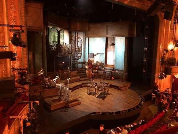 Walter Kerr Theatre, secção: Mezz, fila: B, lugar: 19