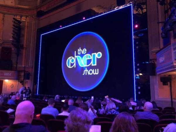 Neil Simon Theatre, secção: Orchestra C, fila: L, lugar: 114