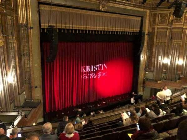 Nederlander Theatre, secção: Mezzanine L, fila: J, lugar: 23