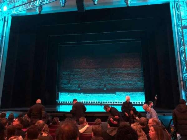 Broadhurst Theatre, secção: Orchestra C, fila: K, lugar: 112
