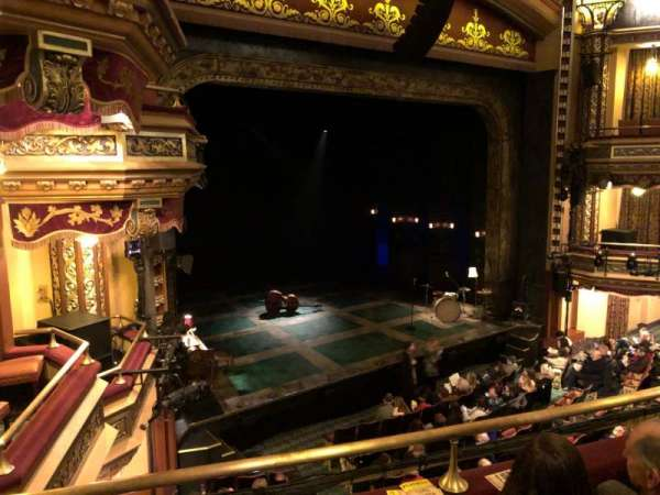 Belasco Theatre, secção: Mezzanine L, fila: C, lugar: 19