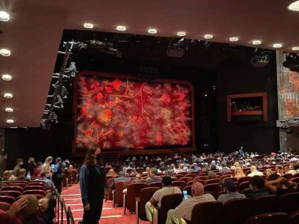 Minskoff Theatre, secção: Orchestra L, fila: Z, lugar: 1