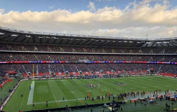 Twickenham Stadium, secção: M11, fila: 66, lugar: 290