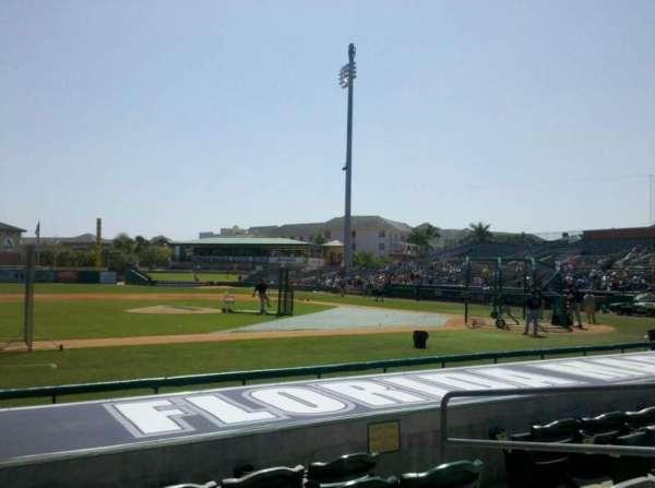 Roger Dean Chevrolet Stadium, secção: 119, fila: 5, lugar: 5