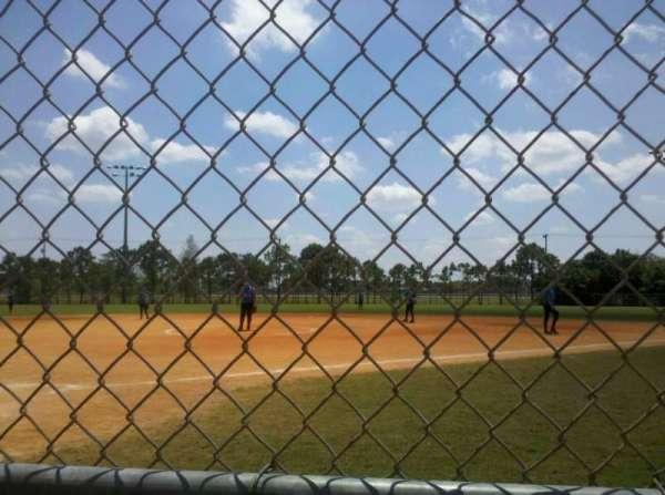 West  Boca Softball, secção: 1, fila: 1, lugar: 1