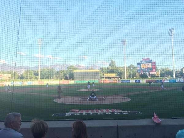 Smith's Ballpark, secção: 13, fila: M, lugar: 8