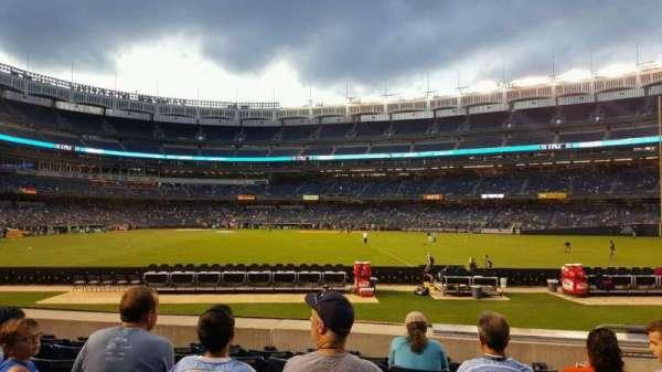 Yankee Stadium, secção: 103, fila: 16, lugar: 4