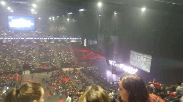 AccorHotels Arena, secção: balcon f, fila: 92