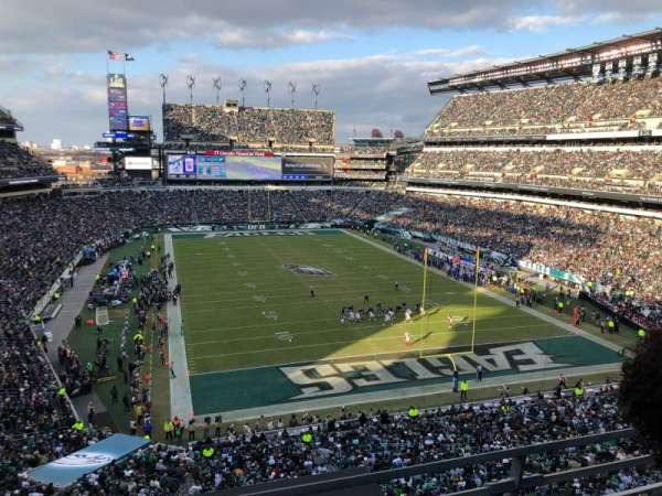 Lincoln Financial Field, secção: M10, fila: 14, lugar: 31