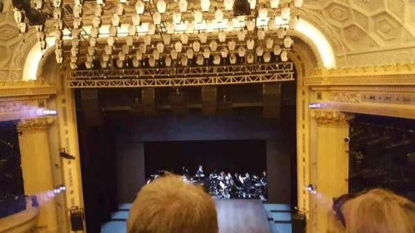 Hudson Theatre, secção: Balcony C, fila: B, lugar: 113