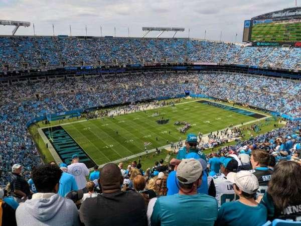 Bank of America Stadium, secção: 520, fila: 25, lugar: 17