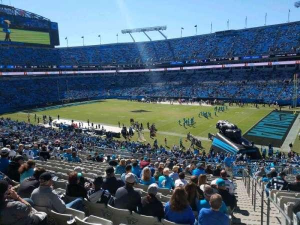 Bank of America Stadium, secção: 310