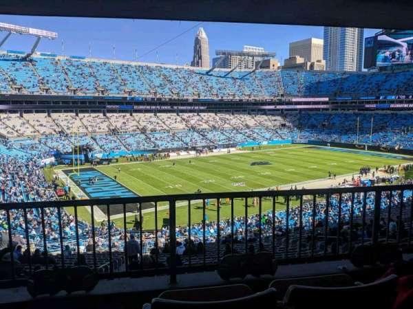 Bank of America Stadium, secção: 349, fila: 23, lugar: 4