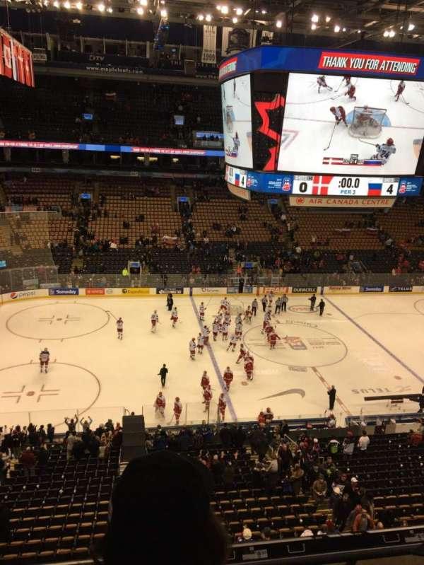 Scotiabank Arena, secção: 322, fila: 3, lugar: 15