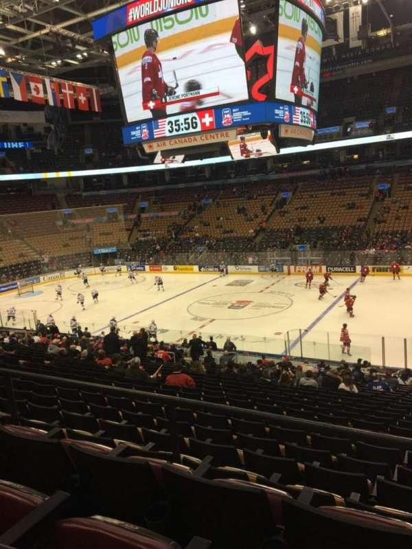 Scotiabank Arena, secção: 118, fila: 26, lugar: 3