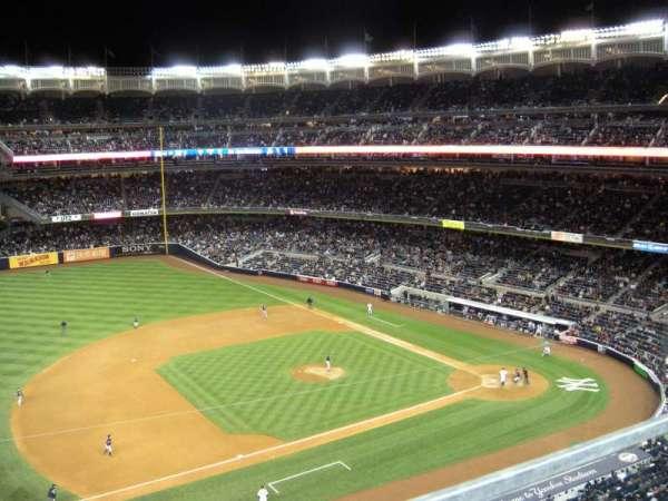 Yankee Stadium, secção: 326, fila: 1, lugar: 20
