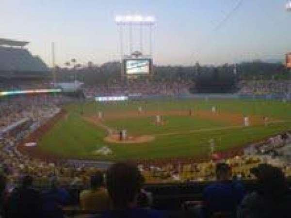 Dodger Stadium, secção: 110LG, fila: G, lugar: 7