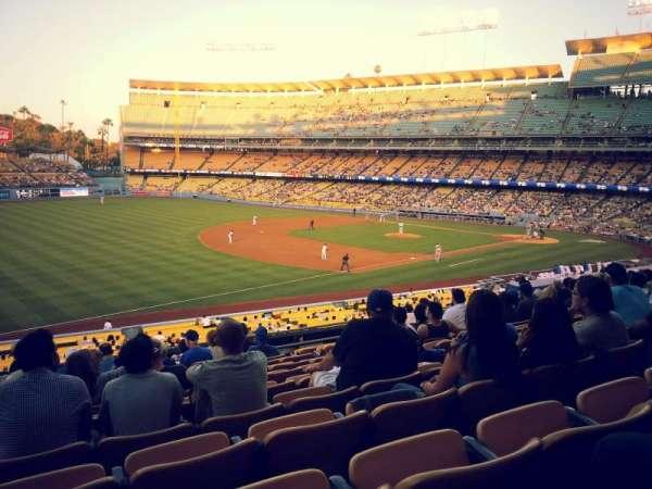 Dodger Stadium, secção: 151LG, fila: L, lugar: 7