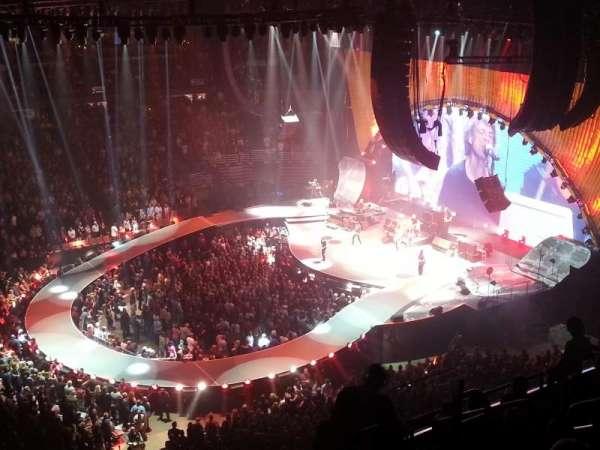 Honda Center, secção: 434, fila: J, lugar: 8