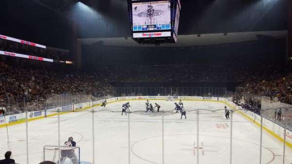 VyStar Veterans Memorial Arena, secção: 108, fila: K, lugar: 4