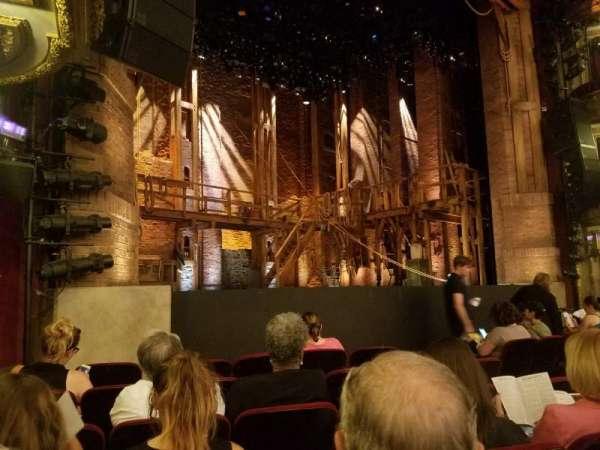 CIBC Theatre, secção: L Orchestra, fila: G, lugar: 15
