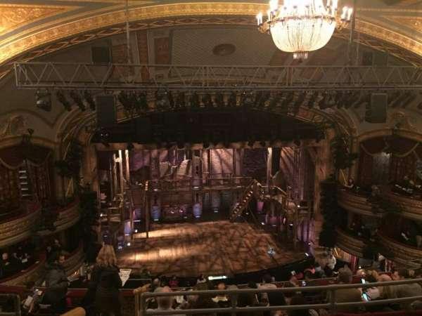 Richard Rodgers Theatre, secção: Rear Mezzanine C, fila: J, lugar: 114