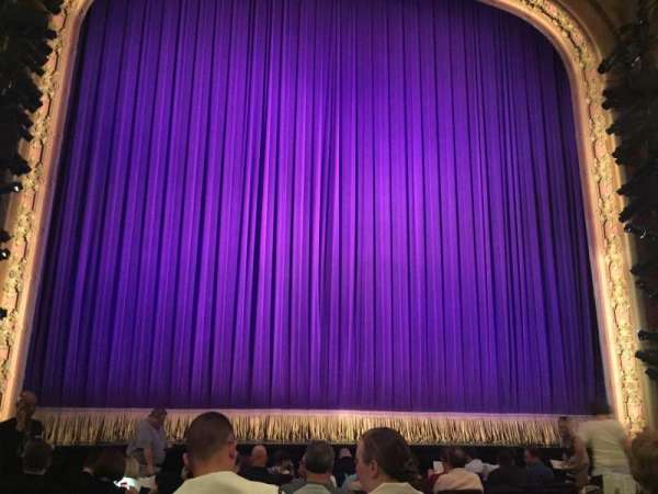 Lyceum Theatre (Broadway), secção: Orchestra C, fila: L, lugar: 112