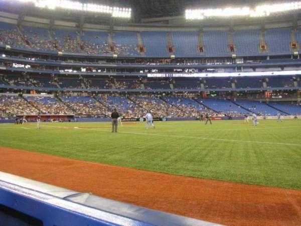 Rogers Centre, secção: 113, fila: 1