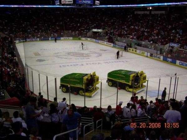 PNC Arena, secção: 113, fila: V