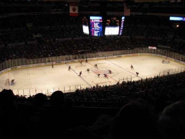 Madison Square Garden, secção: 426, fila: D