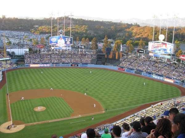Dodger Stadium, secção: 10TD, fila: M, lugar: 2