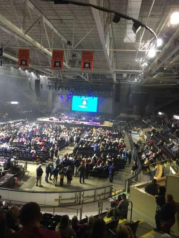 Cross Insurance Arena, secção: M, fila: 15, lugar: 8
