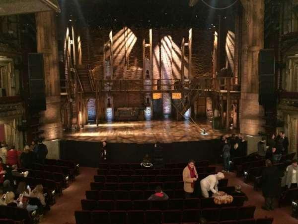 CIBC Theatre, secção: Dress Circle C, fila: A, lugar: 204