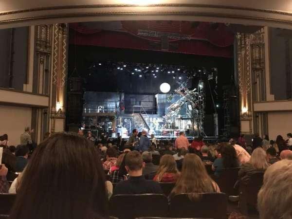 Golden Gate Theatre, secção: Orchestra L, fila: S, lugar: 5